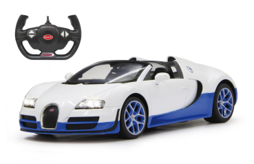 Bugatti Veyron Grand Sport Vitesse RC Car 1:14 (32cm) weiss blau 2,4GHz