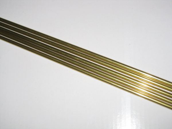 Messingrohr Ø 3,0/2,1mm x 1000mm Aeronaut 774031